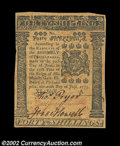 Colonial Notes:Pennsylvania, Pennsylvania July 20, 1775 40s Extremely Fine. A very ...