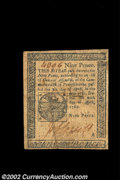 Colonial Notes:Pennsylvania, Pennsylvania April 20, 1781 9d Choice Very Fine. A well ...