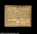 Colonial Notes:Rhode Island, Rhode Island July 2, 1780 $2 About New. Fully signed and ...