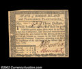 Colonial Notes:Rhode Island, Rhode Island July 2, 1780 $3 Very Choice New. This is an ...