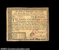 Colonial Notes:Rhode Island, Rhode Island July 2, 1780 $3 About New. Fully signed on ...
