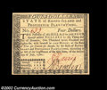 Colonial Notes:Rhode Island, Rhode Island July 2, 1780 $4 Gem New. A beautiful ...