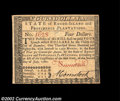 Colonial Notes:Rhode Island, Rhode Island July 2, 1780 $4 About New. Fully signed, ...