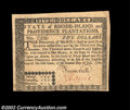 Colonial Notes:Rhode Island, Rhode Island July 2, 1780 $5 Extremely Fine. Good looking, ...