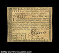 Colonial Notes:Rhode Island, Rhode Island July 2, 1780 $7 Choice New. Fully signed and ...