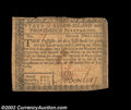 Colonial Notes:Rhode Island, Rhode Island July 2, 1780 $7 Very Fine. A low numbered (71)...