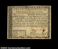 Colonial Notes:Rhode Island, Rhode Island July 2, 1780 $8 Choice About New. A nice high-...