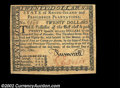 Colonial Notes:Rhode Island, Rhode Island July 2, 1780 $20 Gem New. A fully signed and ...