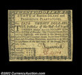 Colonial Notes:Rhode Island, Rhode Island July 2, 1780 $20 About New. A fully signed ...