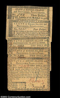 Colonial Notes:Rhode Island, A group of fully signed Rhode Island Guaranteed notes. All ...