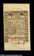 Colonial Notes:Rhode Island, Rhode Island May 1786 1s Gem New. More closely margined ...