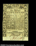 Colonial Notes:Rhode Island, Rhode Island May 1786 6s Choice About New. Closely ...