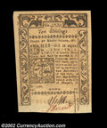 Colonial Notes:Rhode Island, Rhode Island May 1786 10s Choice New. A decently centered, ...