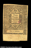 Colonial Notes:Rhode Island, Rhode Island May 1786 L3 New. A well signed example of the ...