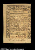 Colonial Notes:Rhode Island, Rhode Island May 1786 L3 About New. Close on the right on ...