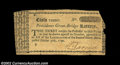 Colonial Notes:Rhode Island, Rhode Island Lottery Tickets. Two Providence Great-Bridge ...