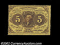 Fractional Currency:First Issue, Fr. 1228 5c First Issue Very Choice New. This fully ...