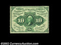 Fractional Currency:First Issue, Fr. 1240 10c First Issue Very Choice New. A near-Gem ...