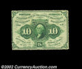 Fractional Currency:First Issue, Fr. 1241 10c First Issue Very Choice New. A fully ...
