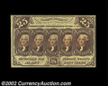 Fractional Currency:First Issue, Fr. 1282 25c First Issue Very Choice New. A lovely note ...