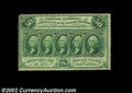 Fractional Currency:First Issue, Fr. 1310 50c First Issue Choice New. This perforated 50c ...