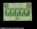 Fractional Currency:First Issue, Fr. 1313 50c First Issue Very Choice New. The margins on ...