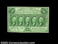 Fractional Currency:First Issue, Fr. 1313 50c First Issue About New. There is a light ...