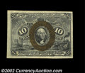 Fractional Currency:Second Issue, Fr. 1245 10c Second Issue Very Choice New. This hugely ...