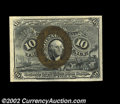 Fractional Currency:Second Issue, Fr. 1247 10c Second Issue Superb Gem New. Fr. 1247 is a ...