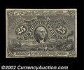 Fractional Currency:Second Issue, 25c Second Issue Negative Essay Very Choice New Milton ...
