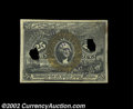 Fractional Currency:Second Issue, Second Issue 25c Experimental Choice New. Well centered ...
