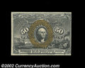 Fractional Currency:Second Issue, Fr. 1316 50c Second Issue Very Choice New. This is a near-...