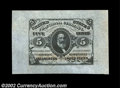 Fractional Currency:Third Issue, Fr. 1238SP 5c Third Issue Wide Margin Face Gem New. A ...