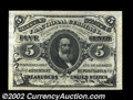 Fractional Currency:Third Issue, Fr. 1239 5c Third Issue Gem New. Broadly margined, with ...