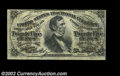 Fr. 1297 25c Third Issue Choice About New. A beautifully bright Fiber Paper Fessenden with two huge margins, two tiny ma...