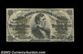 Fractional Currency:Third Issue, Fr. 1299 25c Third Issue About New, Damaged. The note has ...