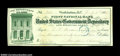 Miscellaneous:Checks, U.S. Army Paymaster Check Drawn on the First National Bank ...