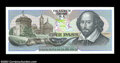 "Miscellaneous:Other, De La Rue Giori S.A. ""One Pass Completa"" Test Note. A ..."