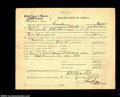 "Miscellaneous:Other, Oklahoma, early statehood ""Qualification of Surety"" for a ..."