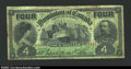 Canadian Currency: , DC-17b $4 1902 About Fine. A pleasing circulated example ...