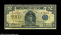Canadian Currency: , DC-26h $2 1923 Fine-Very Fine. A number of pinholes are ...