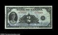Canadian Currency: , BC-3 $2 1935 English Text. Three examples, all grading ...