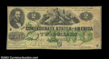 Confederate Notes:1862 Issues, T43 $2 1862. Although not nearly as nice as the previous ...