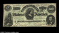Confederate Notes:1862 Issues, T49 $100 1862. A crisp, well centered, and very pleasing ...