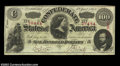Confederate Notes:1863 Issues, T56 $100 1863. A few very light folds are present on this ...