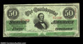 Confederate Notes:1863 Issues, T57 $50 1863. Extremely Fine....