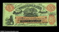 "Confederate Notes:Group Lots, XXI-C $20 1861. A nice example of the famous ""Female ..."