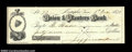 Confederate Notes:Group Lots, Jefferson Davis Signed Check. Although not a Confederate ...