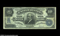 Error Notes:Inverted Reverses, Fr. 304 $10 1908 Silver Certificate Inverted Back Fine-Very ...