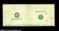 Error Notes:Missing Face Printing (<100%), Fr. ? $10 ? Federal Reserve Note. About Uncirculated....